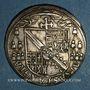 Coins Alsace. Strasbourg. Evêché. Charles de Lorraine (1592-1607). Teston 1603