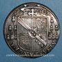Coins Alsace. Strasbourg. Evêché. Charles de Lorraine (1592-1607). Teston 1605