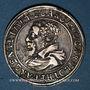 Coins Alsace. Strasbourg. Evêché. Charles de Lorraine (1592-1607). Teston n. d. Saverne. (S fin de lég.)