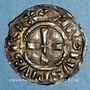 Coins Alsace. Strasbourg. Evêché. Charles le Simple (898-923). Denier