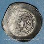 Coins Alsace. Strasbourg. Evêché. Epoque des Hohenstaufen (1138-1284). Denier. Offenbourg vers 1247-1273