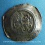 Coins Alsace. Strasbourg. Evêché. Epoque des Hohenstaufen (1138-1284). Denier. Offenbourg vers 1247-73