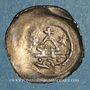 Coins Alsace. Strasbourg. Evêché. Epoque des Hohenstaufen (1138-1284). Denier. Strasbourg (vers 1250-70)