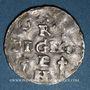 Coins Alsace. Strasbourg. Evêché. Henri II, roi (1002-1014). Denier