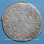 Coins Alsace. Strasbourg. Evêché. Jean de Manderscheid (1569-1592). 2 kreuzers 1575. Molsheim. Inédit !