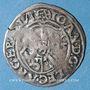 Coins Alsace. Strasbourg. Evêché. Jean de Manderscheid (1569-1592). 2 kreuzers 1575. Molsheim