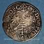 Coins Alsace. Strasbourg. Evêché. Jean de Manderscheid (1569-1592). 2 kreuzers 1576. Molsheim