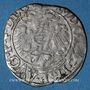 Coins Alsace. Strasbourg. Evêché. Jean de Manderscheid (1569-1592). 2 kreuzers 1591. Molsheim ou Saverne