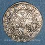 Coins Alsace. Strasbourg. Evêché. Jean de Manderscheid (1569-1592). 2 kreuzers 1591. Saverne