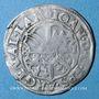 Coins Alsace. Strasbourg. Evêché. Jean de Manderscheid (1569-1592). 3 kreuzers 1581. Molsheim