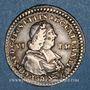 Coins Alsace Strasbourg. Evêché. Louis Constantin de Rohan-Guéménée (1756-79). 1/6 taler 1759. Oberkirch