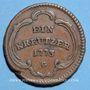 Coins Alsace. Strasbourg. Evêché. Louis Constantin de Rohan-Guéménée (1756-79). 1 kreuzer 1773G. Günzbourg