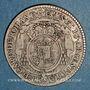 Coins Alsace. Strasbourg. Evêché.Louis Constantin de Rohan-Guéménée (1756-79). 10 kreuzers 1773G Günzbourg