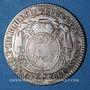 Coins Alsace. Strasbourg Evêché. Louis Constantin de Rohan-Guéménée (1756-79). 10 kreuzers 1773G Günzbourg