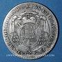 Coins Alsace. Strasbourg Evêché. Louis Constantin de Rohan-Guéménée (1756-79). 20 kreuzers 1773G Günzbourg