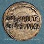 Coins Alsace. Strasbourg. Evêché. Louis l'Enfant (899-911). Denier