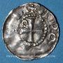 Coins Alsace. Strasbourg. Evêché. Otto III, empereur (996-1002). Denier