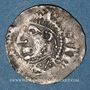 Coins Alsace. Strasbourg. Evêché. Otton I le Grand, roi et l'évêque Otton III (950-962). Denier. R ! R !