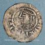 Coins Alsace. Strasbourg. Evêché. Otton I le Grand, roi et l'évêque Otton III (950-962). Obole. R!R ! R !