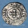 Coins Alsace. Strasbourg. Evêché. Otton II (973-983). Obole