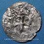Coins Alsace. Strasbourg. Evêché. Otton III, empereur (996-1002). Denier