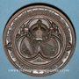 Coins Alsace. Strasbourg. Exposition agricole. 1881. Médaille cuivre. 50,9 mm. Gravée par W. Mayer