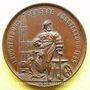 Coins Alsace. Strasbourg. Exposition Industrielle. 1895. Médaille bronze. 33,5 mm