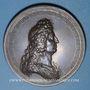 Coins Alsace. Strasbourg fortifiée. 1683. Médaille cuivre. Refrappe
