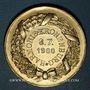 Coins Alsace. Strasbourg. Harmonie de Cronenbourg. 1900. Médaille bronze doré. 34,21 mm