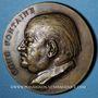 Coins Alsace. Strasbourg. Hommage au docteur René Fontaine. 1961. Médaille bronze. 50,5mm. Par René Hetzel
