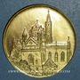 Coins Alsace. Strasbourg. Hommage de l'UNA à son président Lucien Engelhard. 1996. Médaille bronze