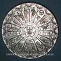Coins Alsace. Strasbourg. Hommage de l'UNA au Dr. René Burgun pour ses 80 ans. Médaille argent. 60,51 mm