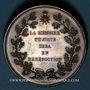 Coins Alsace. Strasbourg. Jean Frédéric Oberlin (1740-1826). Médaille. Bronze. 45 mm. Gravée par Kirstein