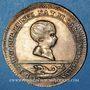 Coins Alsace. Strasbourg. Jubilé de 1781. Naissance du Dauphin. Jeton argent doré