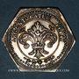 Coins Alsace. Strasbourg. Jubilé du rattachement de Strasbourg à la France. Octobre 1781. Jeton argent