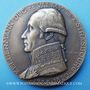 Coins Alsace. Strasbourg. Kellermann, duc de Valmy (1735-1820). Médaille bronze. 1935. Gravée par Morlon
