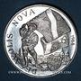 Coins Alsace. Strasbourg. La décapole. 1988. Médaille argent. 42,38 mm