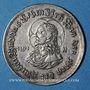 Coins Alsace. Strasbourg. Médaille de morale (17e). Argent. 26 mm. Gravée par J. G. Lutz.