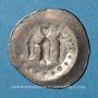 Coins Alsace. Strasbourg. Monnayage affermé par l'évêché (1296-1334). Hälbling à l'ange, 1296-1334
