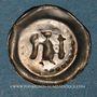 Coins Alsace. Strasbourg. Monnayage affermé par l'évêché (1296-1334). Pfennig à l'ange, 1296-1334