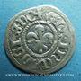 Coins Alsace. Strasbourg Municipalité. 1 kreuzer (15e - début 16e). Frappé avec deux coins de revers