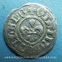 Coins Alsace. Strasbourg. Municipalité. 1 kreuzer (15e - début 16e). Frappé avec deux coins de revers