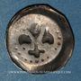 Coins Alsace. Strasbourg. Municipalité (14e - 15e siècle). Pfennig au lis