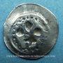 Coins Alsace. Strasbourg. Municipalité. Hälbling au lis (14e siècle)