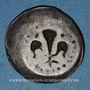 Coins Alsace. Strasbourg. Municipalité. Pfennig au lis (14e - 15e siècle)