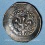 Coins Alsace. Strasbourg. Municipalité. Pfennig au lis (14e siècle)