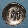Coins Alsace. Strasbourg. Municipalité. Pfennig au vol d'aigle frappé à Offenbourg (1309-1316)