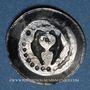 Coins Alsace. Strasbourg. Municipalité. Pfennig aux deux aigles affrontés. Offenbourg (1309-1316)
