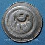 Coins Alsace. Strasbourg. Municipalité. Pfennig biface au vol d'aigle frappé à Offenbourg (1309-1316)