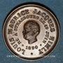 Coins Alsace Strasbourg. Naissance de Louis Maurice Jacques Himly. 1890. Médaille bronze